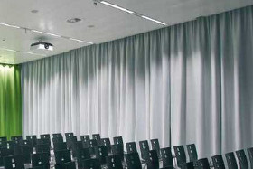 Akustikvorhang Akustikform Produkte Fur Schallschutz Und Raumakustik